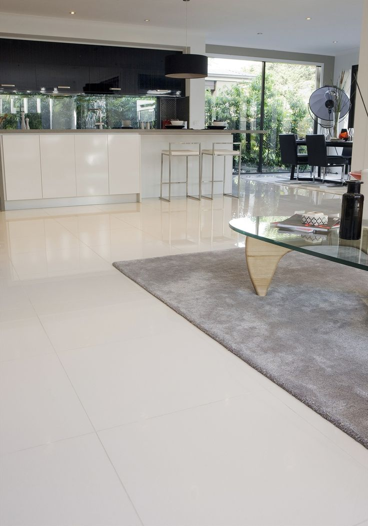 Best Flooring White Kitchen
