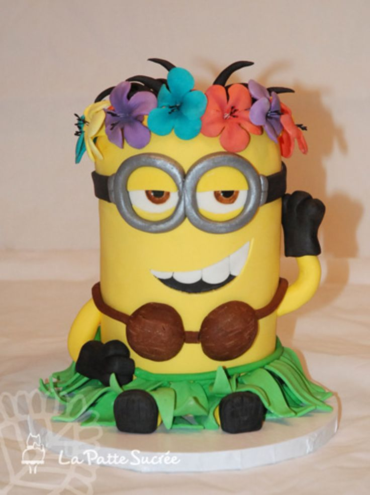 Hula Minion Tori S 1st Birthday Pinterest Minion