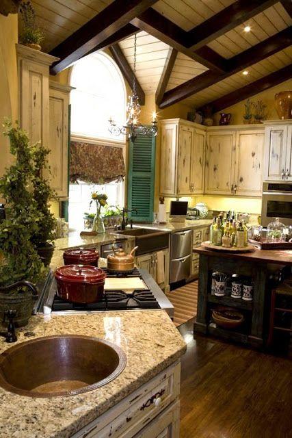 Rustic Country Kitchen Backsplash Ideas