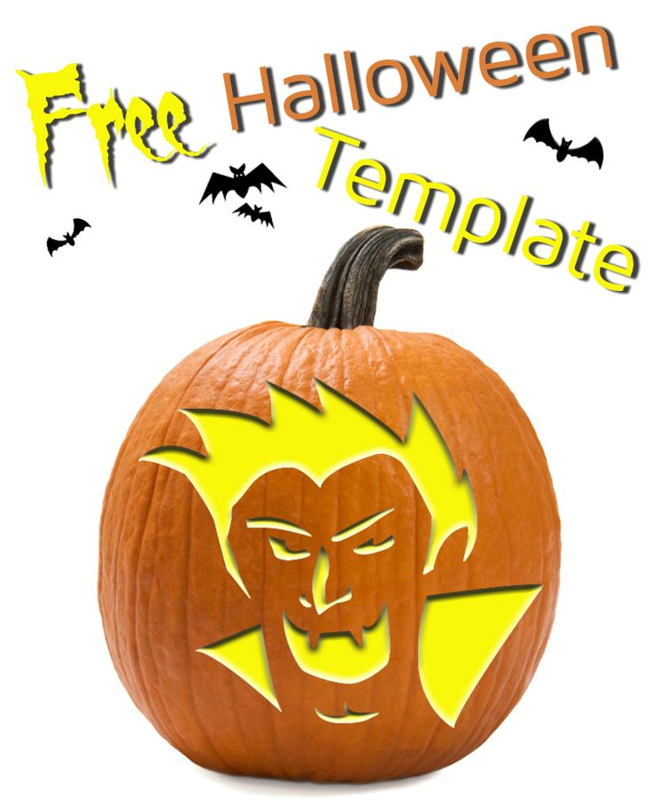 Vampire Carving Templates