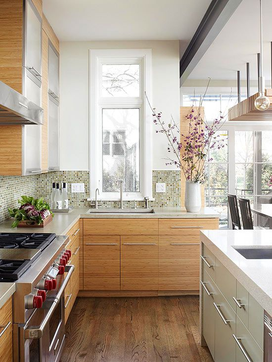Small And Narrow Kitchen Designs