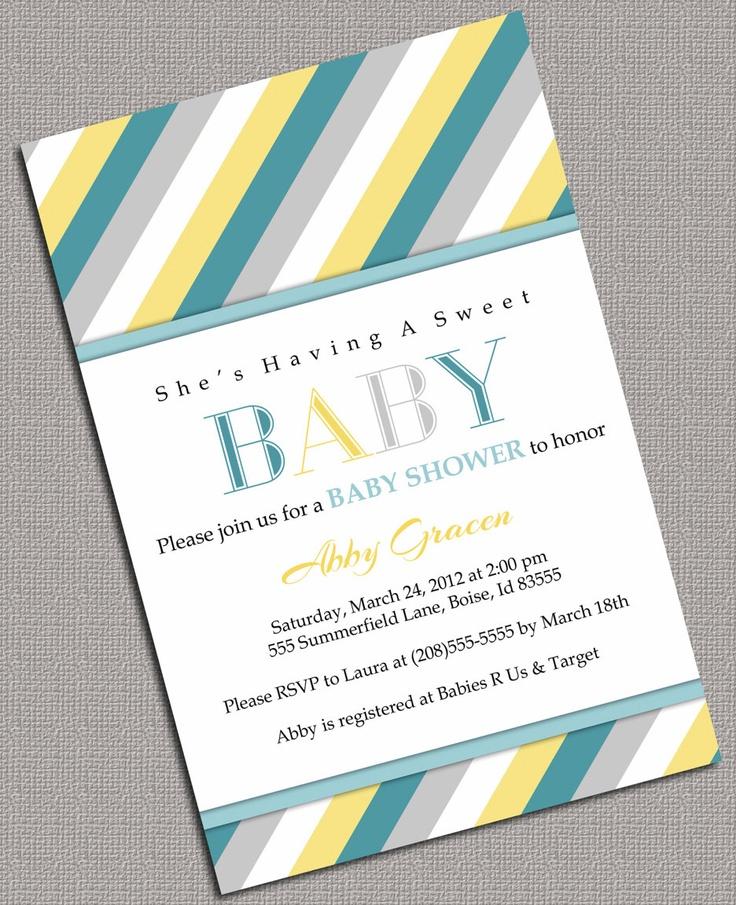 Baby Shower Invitations Kangaroo