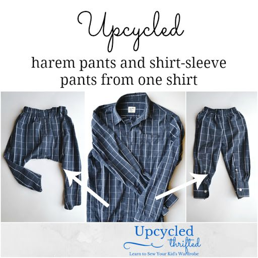 Upcycle Mens Shirt