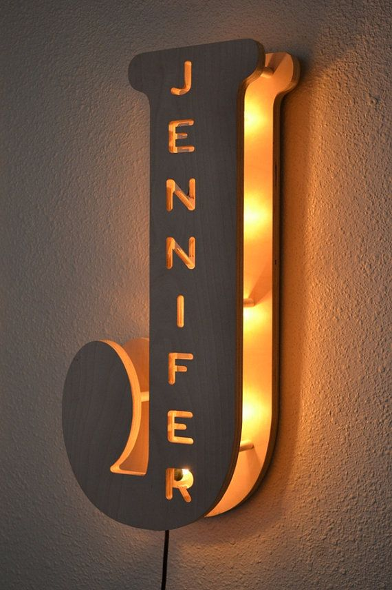 Vintage Marquee Lights Letter B