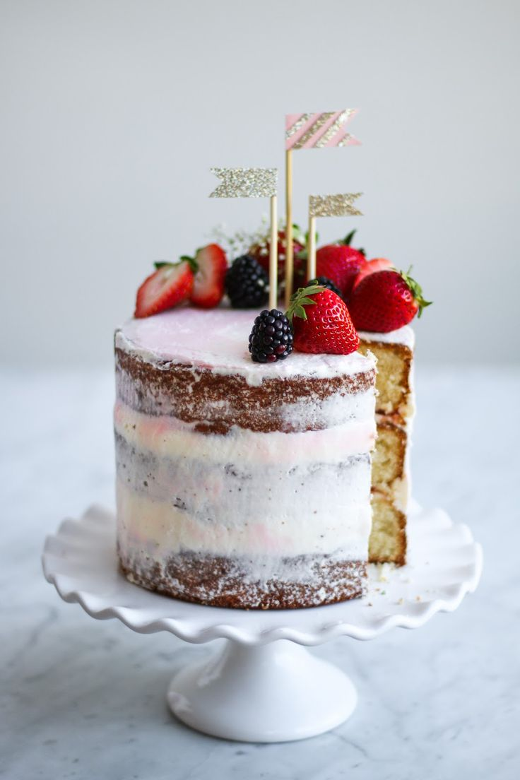 Cakes Berry Mary Easter