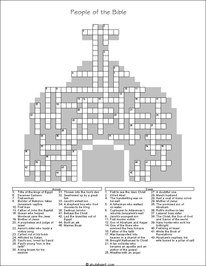 Christian Word Search Sheets
