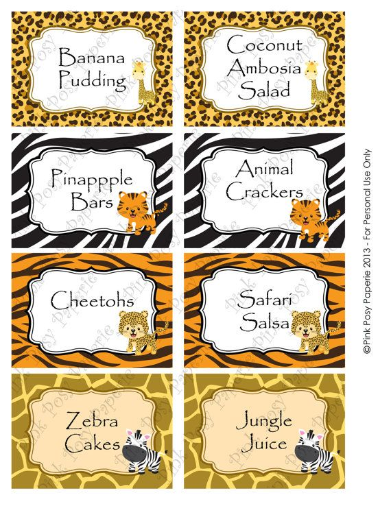 Lion King Baby Shower Party Favors