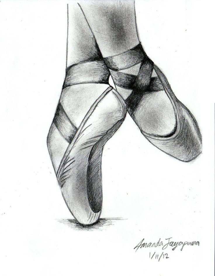 Dance Ballet Slippers Ribbons