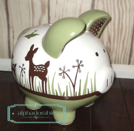 Small Pink Piggy Bank