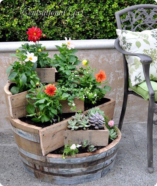 Tiered Garden Planter