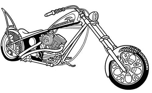 Clip Art Retirement Motorcycle