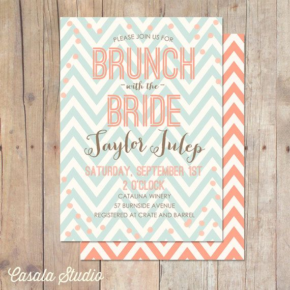 Printable Luncheon Invitations