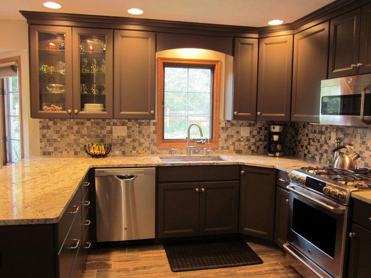 Wood Valance Over Kitchen Sink Google Search Kitchen