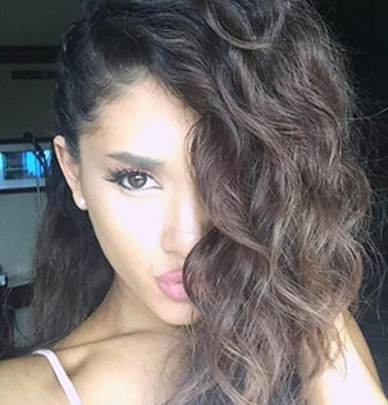 Ariana Grande Without Weave
