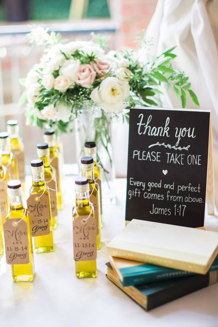 Fall Love Wedding Favors