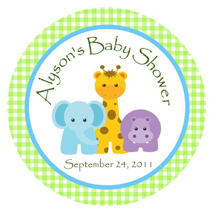 Baby Shower Invitations Giraffe