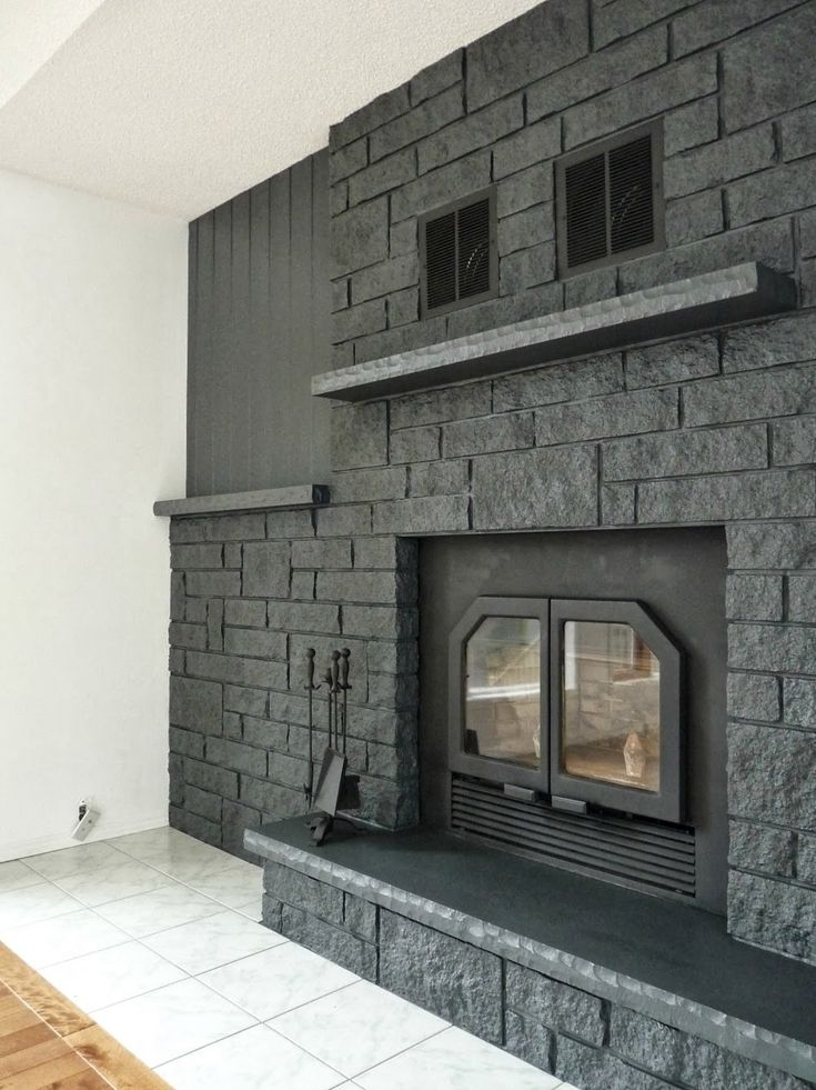 What Paint Use Brick Fireplace