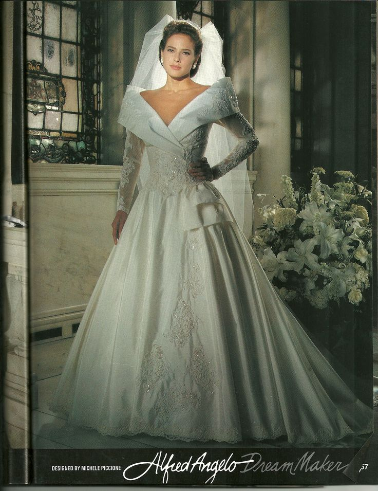 Dresses Wedding 1992 Alfred Angelo