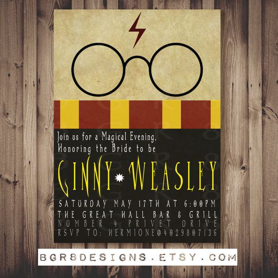 Baby Shower Invitations Harry Potter