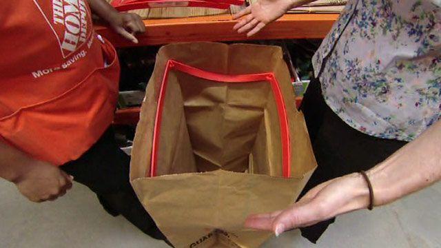 Easiest Way Bag Leaves