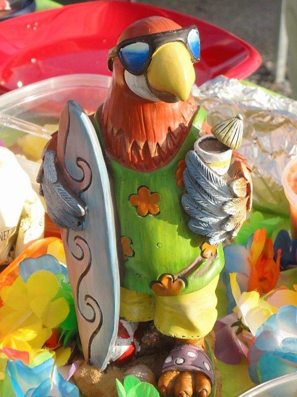 Jimmy Buffett Margaritaville Parrot