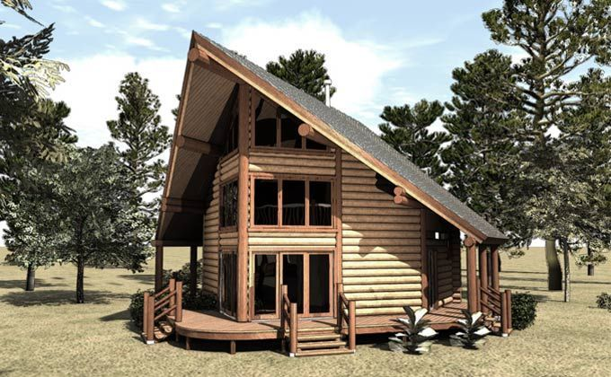 Small Log Cabin Plans