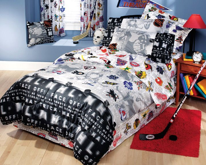 Boys Sports Themed Bedding
