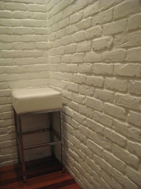 White Brick Wall At Mbco Brick Paneling Faux Brick