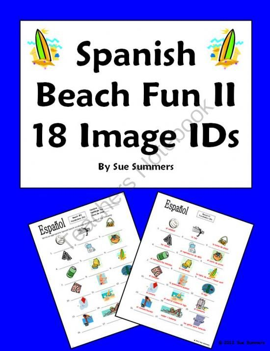 Fun Spanish Words Say