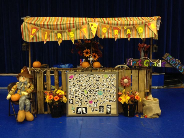 Booth Decorating Ideas Harvest Festival