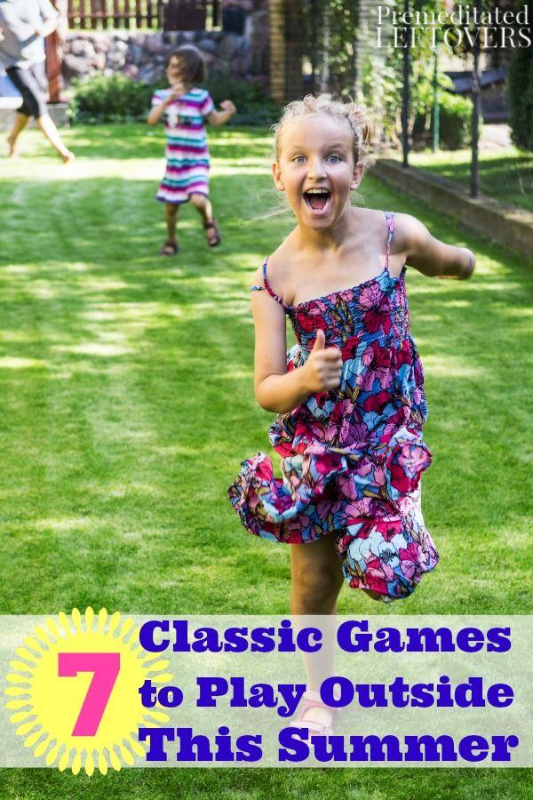 Fun Games Play Outside
