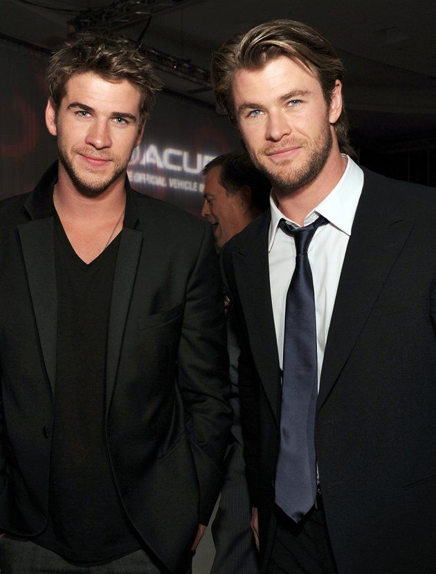 all the hemsworth brothers
