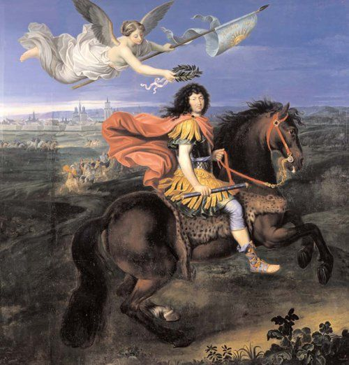 Louis Xiv 1638 1715 Crowned By Victory 1673 By Pierre