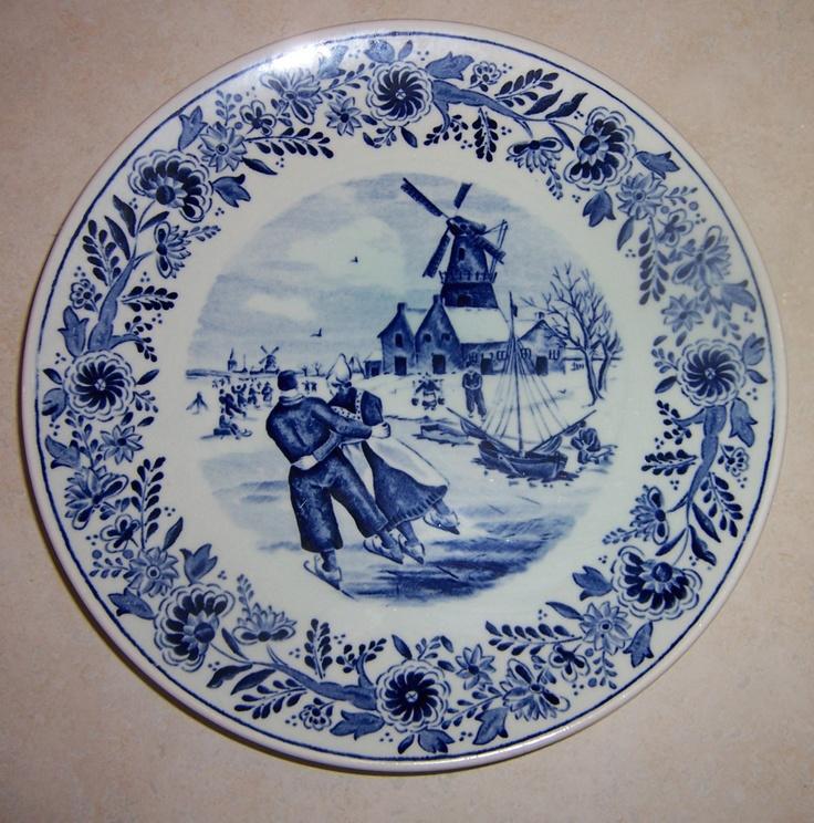 Holland Plates Royal Blue