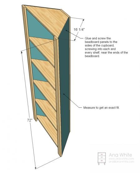 Blueprints Wooden Book Display
