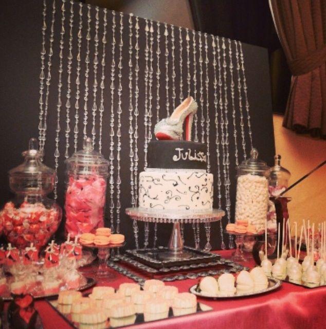 High Heels 40th Birthday Birthday Party Ideas 40th