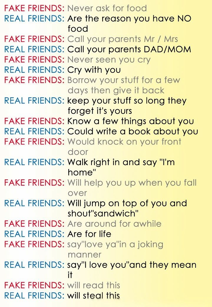 Fake Book Friendship Quotes