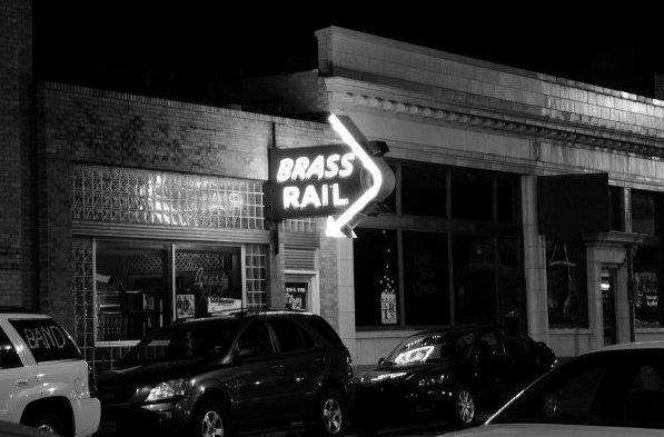 The Brass Rail -- Hays, KS | Downtown Hays | Pinterest | Brass, The o'jays and Hay