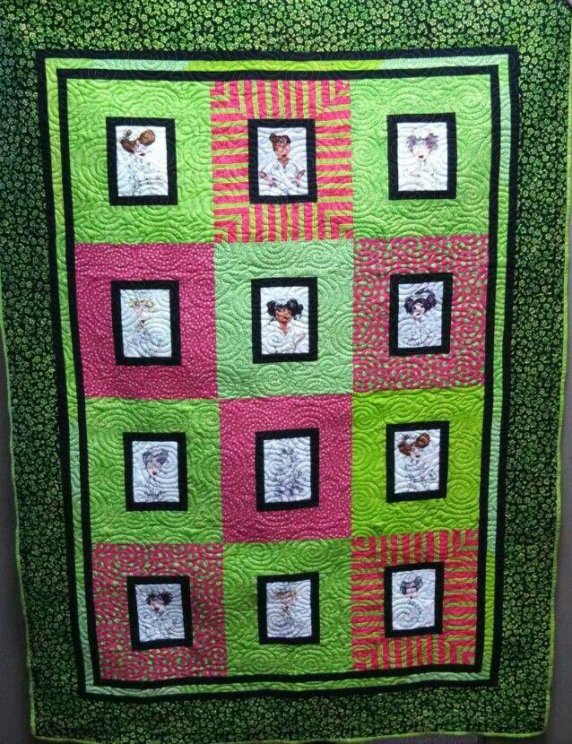 Nurse Themed Quilt Pattern