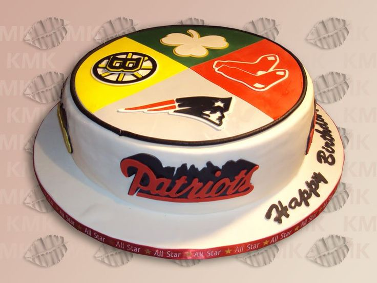 Happy Birthday Cake Boston Bruins
