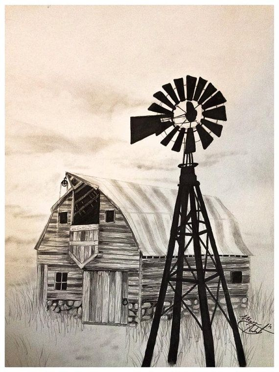 Pen And Ink Drawings Of Iowa