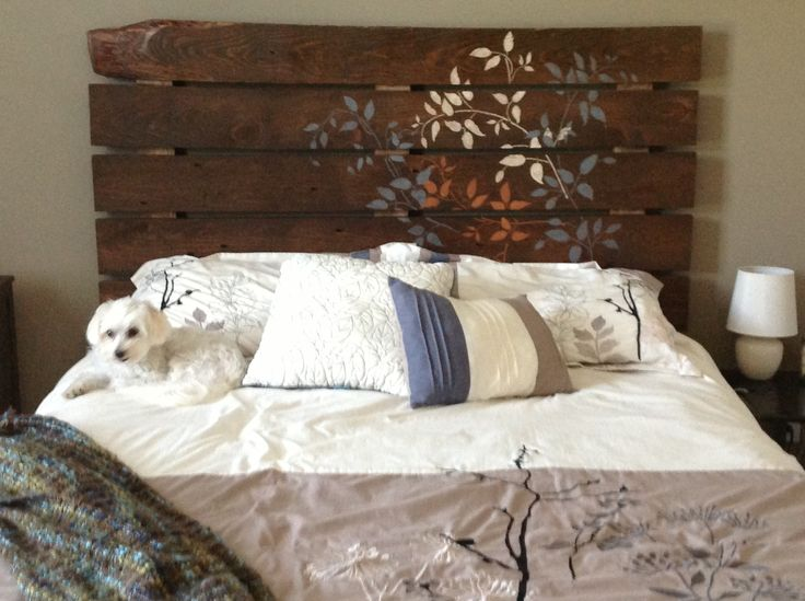 Headboard From Rough Cut Lumber My Projects