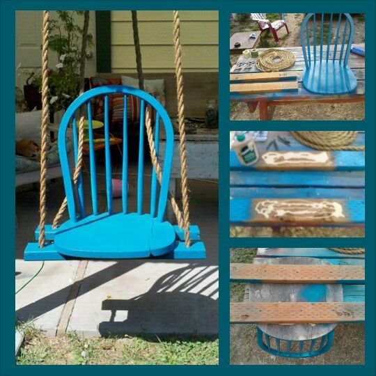 Diy Chair Swing Share Your Craft Pinterest Chairs A