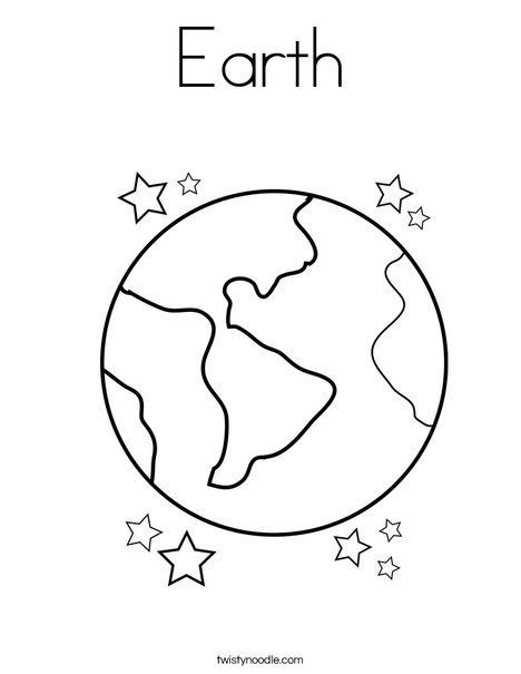 Earth Revolving Around Sun Coloring Pages