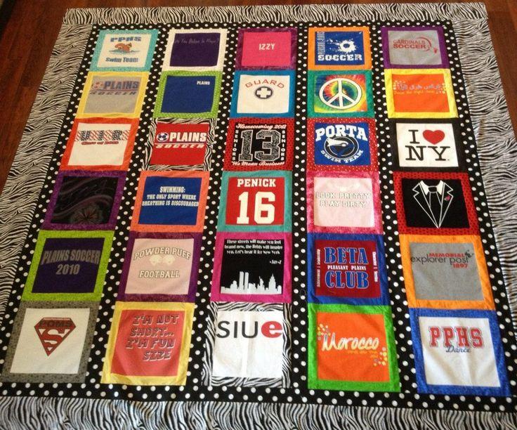 T Shirt Quilt Images