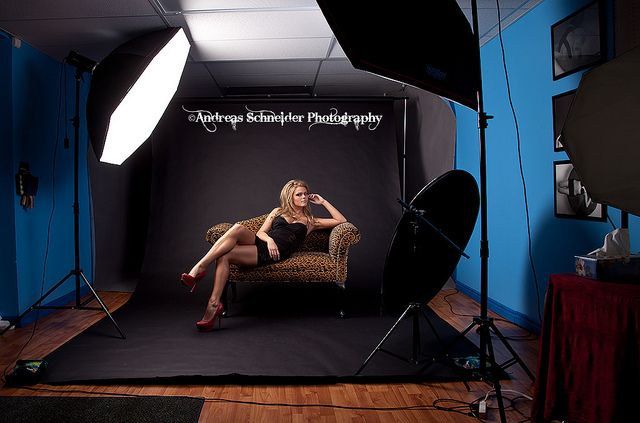 Butterfly Lighting Portrait Photography