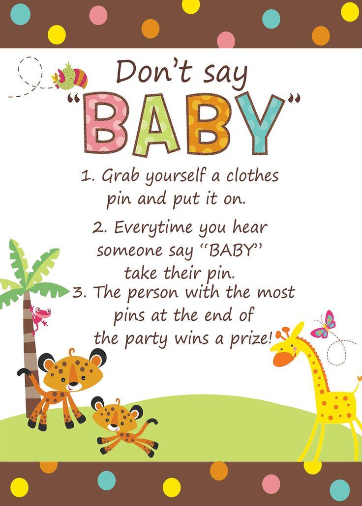 Safari Boy Baby Shower Invitations