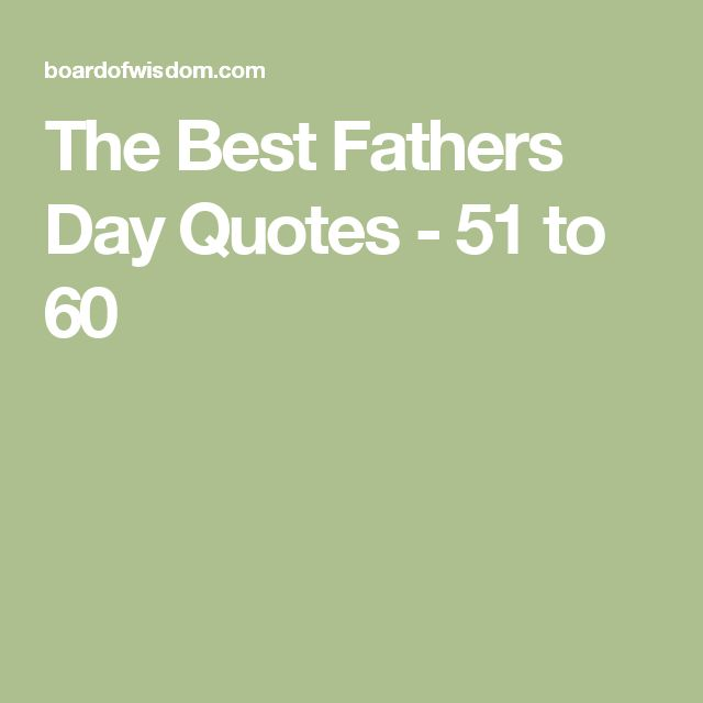 Best Fathers Day Quotes Husband