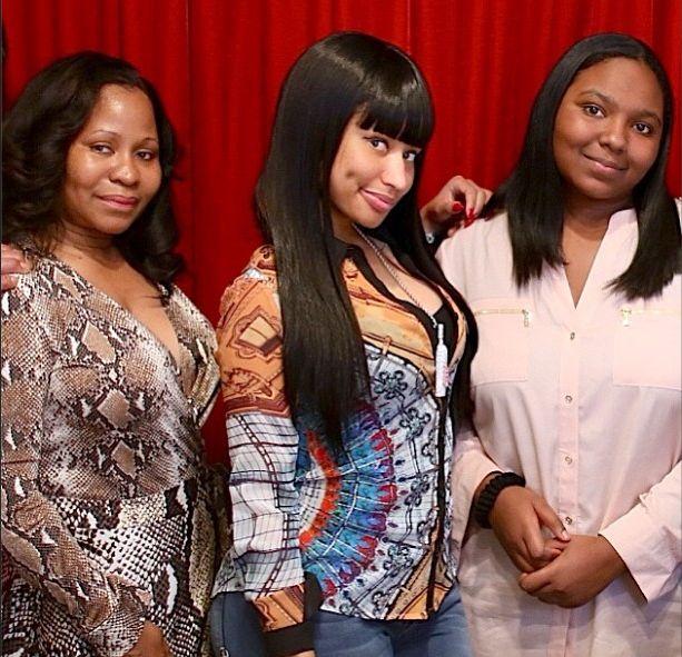Nicki Minaj And Her Mother