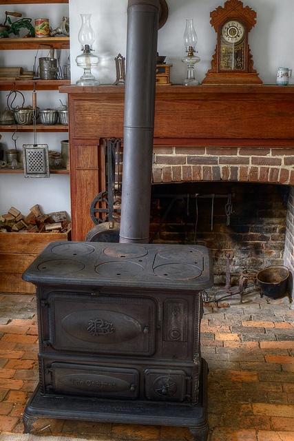 Vintage Coal Cook Stoves